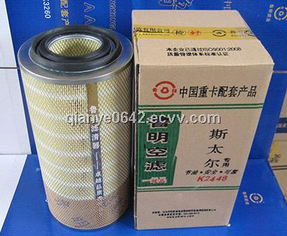 SINO TRUCK HOWO AUTO PARTS , HOWO AIR FILTER
