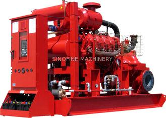 Single Stage Centrifugal Fire Pump , Axially Split Casing Fire Fighting Pumps TPOW