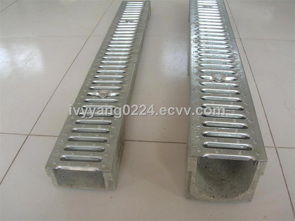 Trench Drain Slot Drain Linear Drainage En1433 U