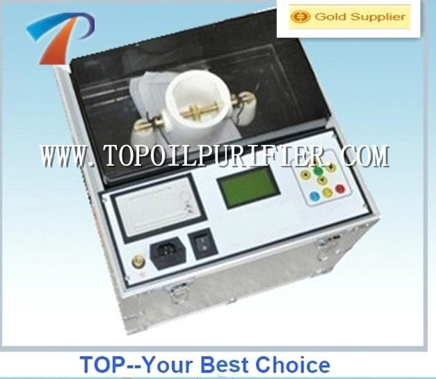 high precision transformer oil BDV value tester,fully automatic,simple operation