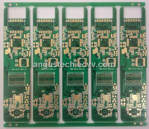 multilayer  gold immersion circuit board for consumer electronics