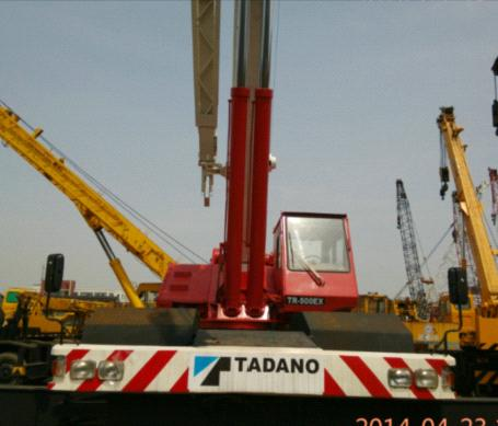 used tadano rough terrain 50t crane model TR500E original from japan