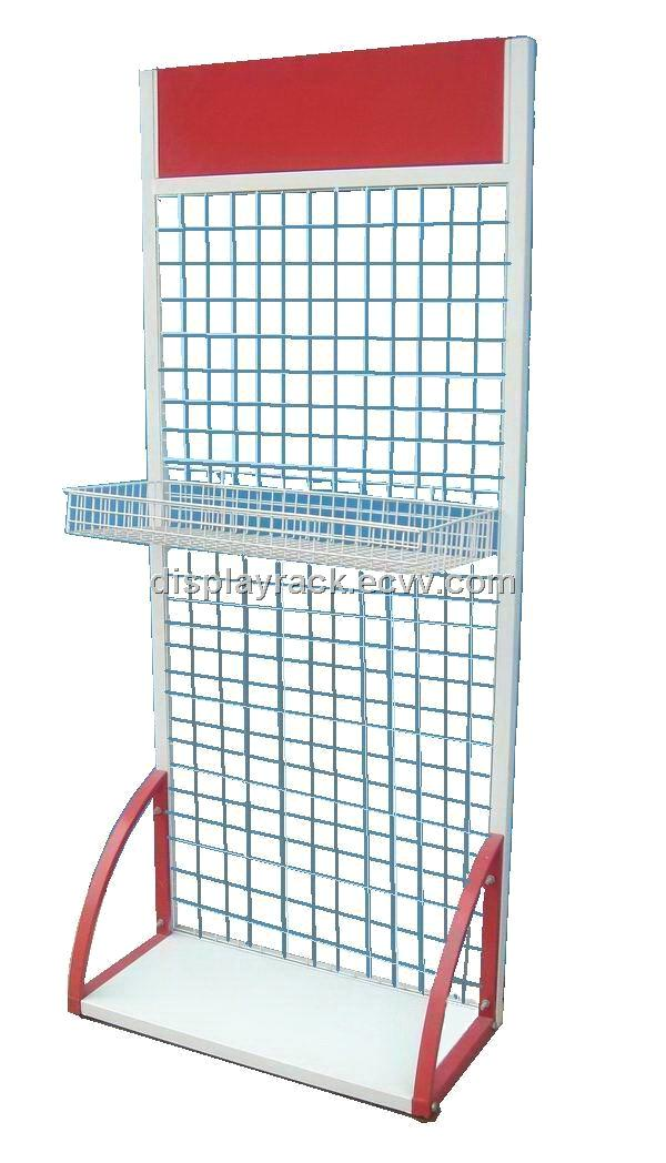 wire grid stand, metal socks display rack, cell phone accessory ...