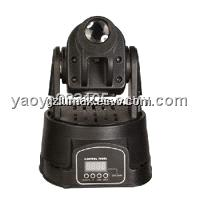 LED Mini Moving Head Light - 15W  Portable Stage Lighting Fixtures