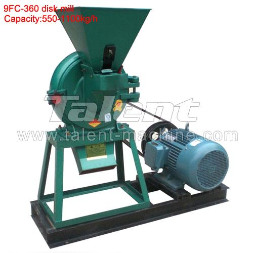 Best selling 9FC-36 corn disk mill machine