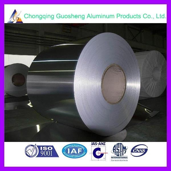 China aluminium foil supplier 3003/1100 decorative aluminum foil