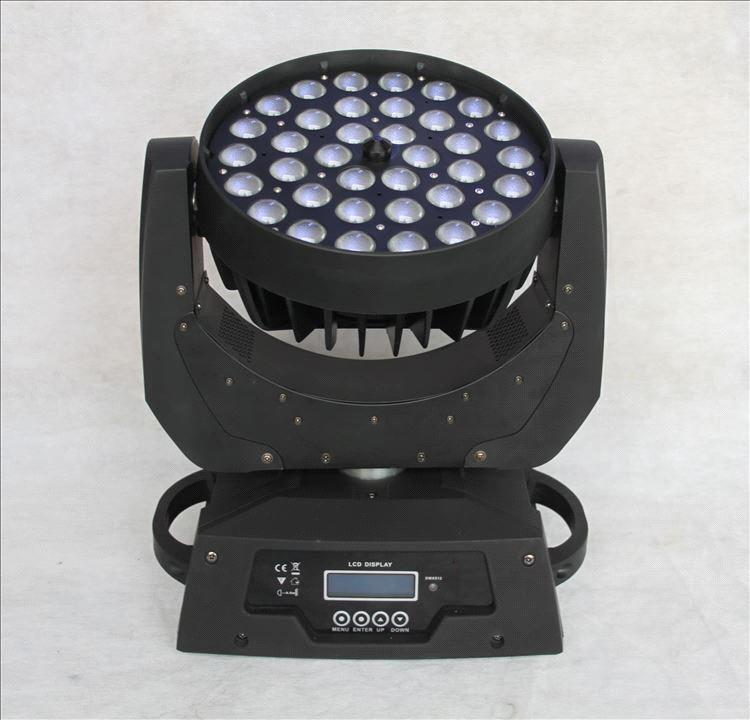 Full-color LED 36*10W Wall Washer Moving Head Light with Zoom
