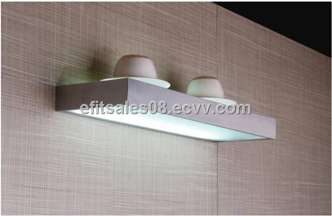 LED glass shelf light