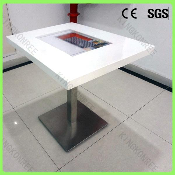 Modern Design Solid Surface Table / Touch Screen Coffee Table