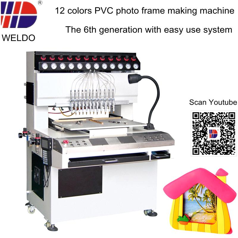 PVC photo frame making machine with easy operate system purchasing ...