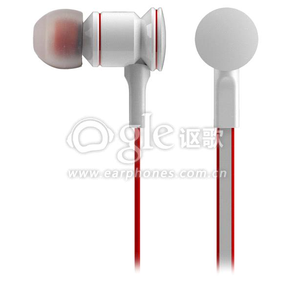 c0beccd4b42 Universal 3.5mm plug stylish metallic in-ear earphone ipod/smartphones/mp3/