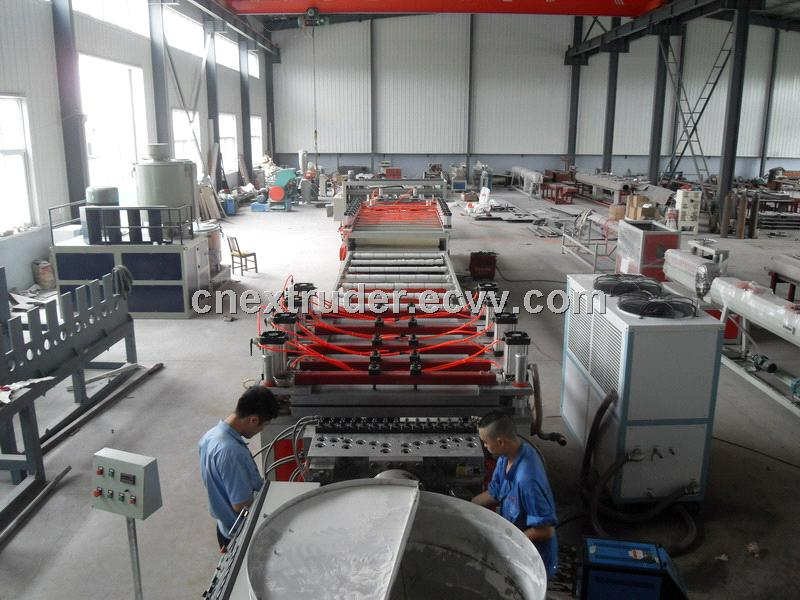WPC building board production line