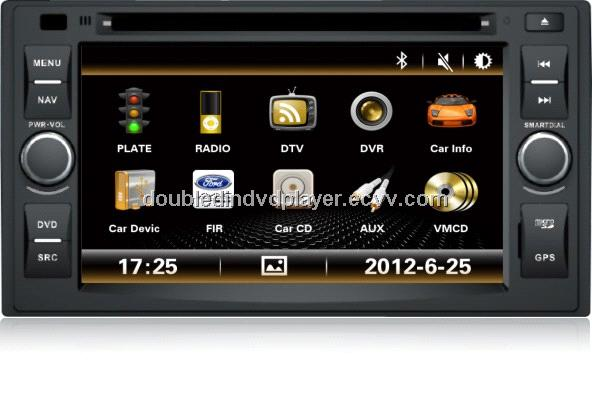 Wince system car dvd player for KIA cerato with GPS/Bluetooth/tv/3g