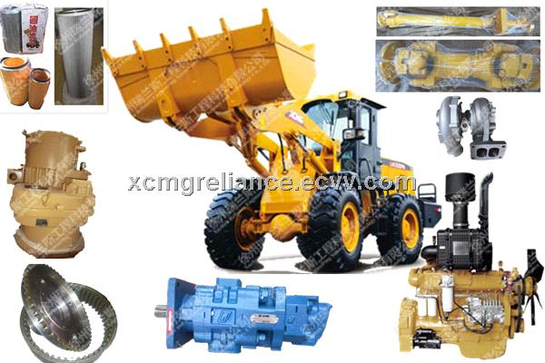 XCMG spare parts/wheel loader spare parts/crane spare parts/grader spare parts offered by  Reliance