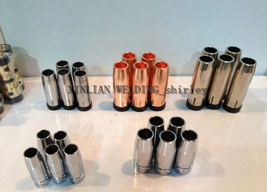 XINLIAN gas nozzle for welding torch parts