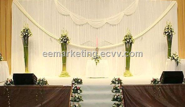 Factory Outlet Metal Curtain Rod for Church,Party,Promotion Show ...