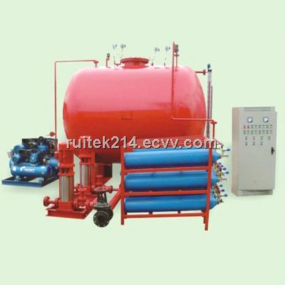 gas pressure fire water supply equipment