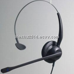 noise cancelling call center headset for sale with good quality
