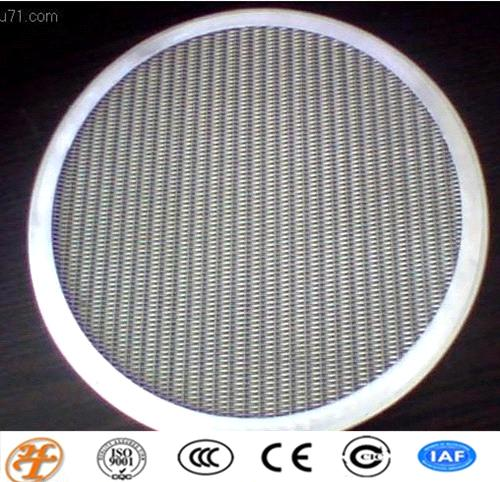 stainless steel mesh cloth filter disc