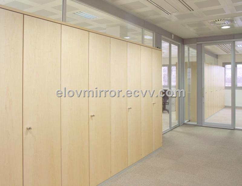 Wood Partition Aluminum Frame Demountable Partitions