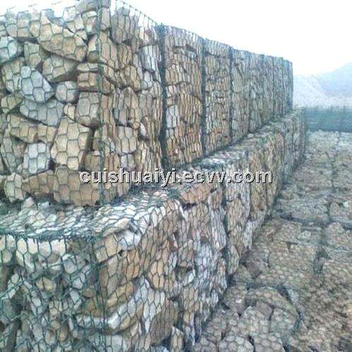 galvanized/pvc coated gabion box