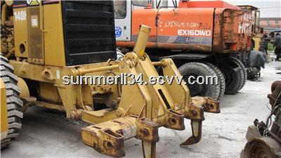 140H used grader caterpillar