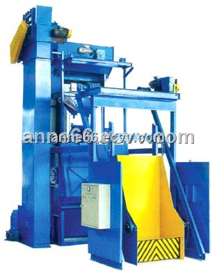 Q15GN Type Tumble Belt Type Shot Blasting Machine