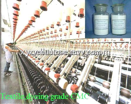 Textile, dyeing grade CMC(Carboxy Methyl Cellulose)