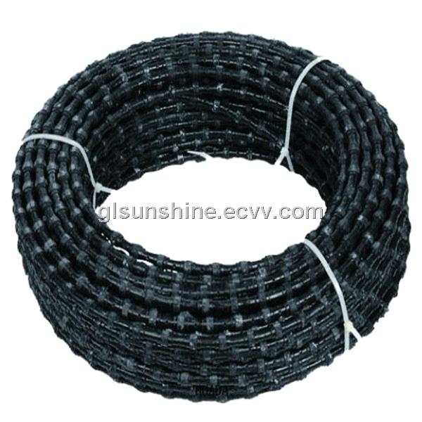 10.5mm 44beads Diamond Wire Saw for Concrete Diamond cutting tools