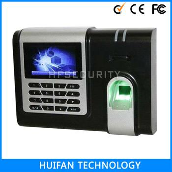 2014 Hot Sale High Quality 3 inch TFT Color Screen Fingerprint Time Attendance Terminal(HF-X628)