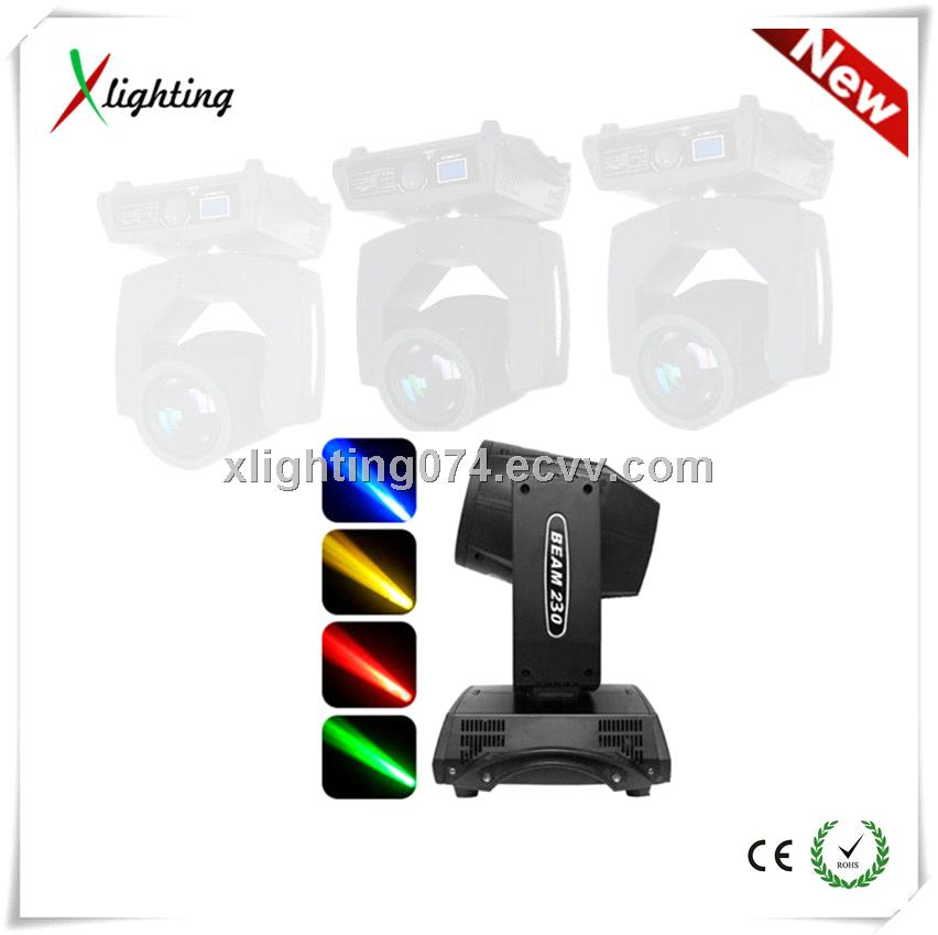 2014 super bright 230w 7R beam moving head light stage lighting