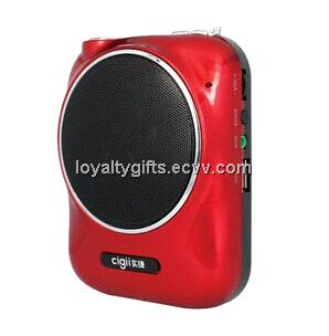 A811 Portable Amplifier, Supports T-flash/USB Card/Music Playback and LED Display with Microphone