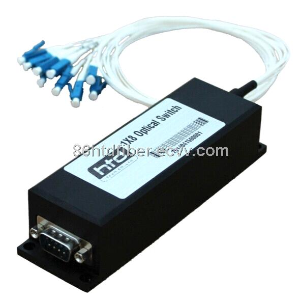 Fiber Optical Switch 1x8 , mechanical optical switch