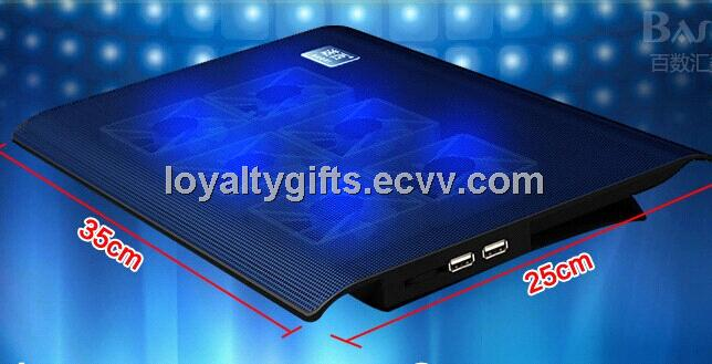 New Arrival Notebook radiator / usb laptop air cooler pad/ ultra thin laptop cooler pad