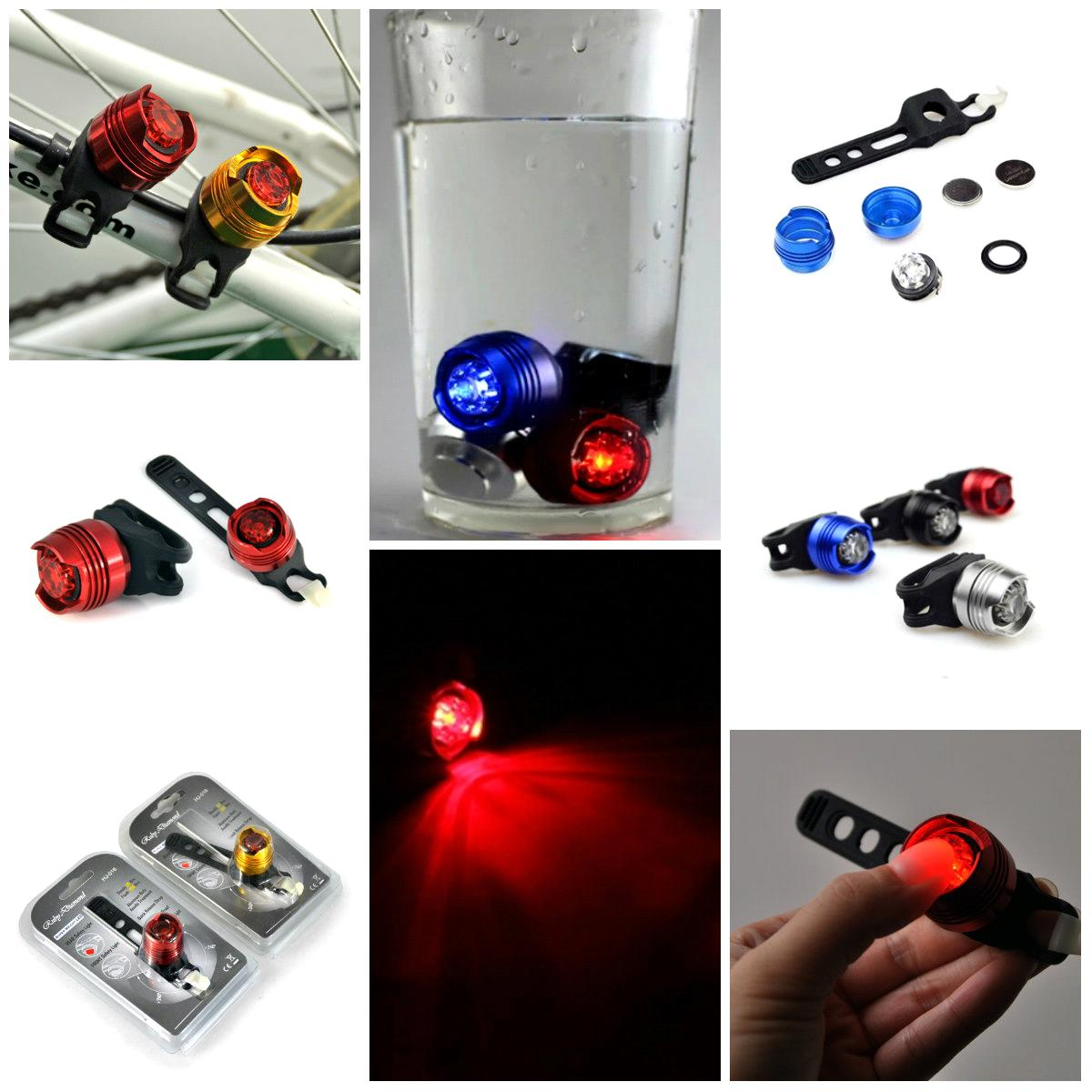 Ruby LED Bicycle front or rear safety light