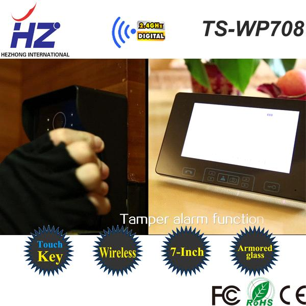 touch key ir night vision video door entry phone apartment systems