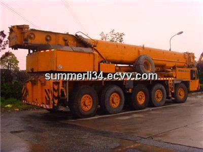 used DEMAG 150t crane good condition