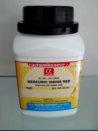 MERCURIC IODIDE RED from India Manufacturer, Manufactory