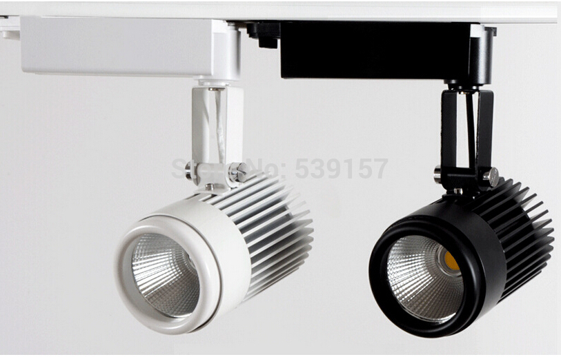Wholesale 30W COB Led Track Light,Spot Wall Lamp,Soptlight Tracking led AC85-265V