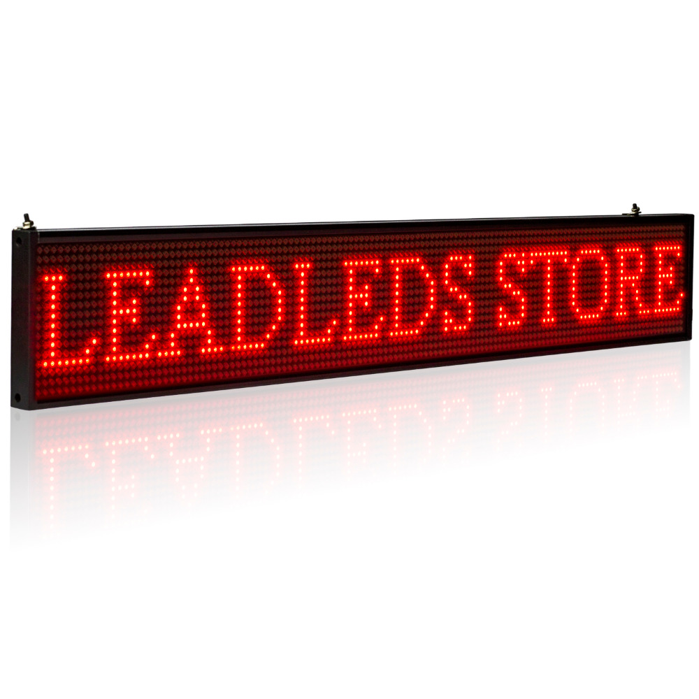 P5 SMD Open Led Sign Android Mobile Phone wifi Wireless Programmable Scroll news Time Countdown Led Display Board Mixed color