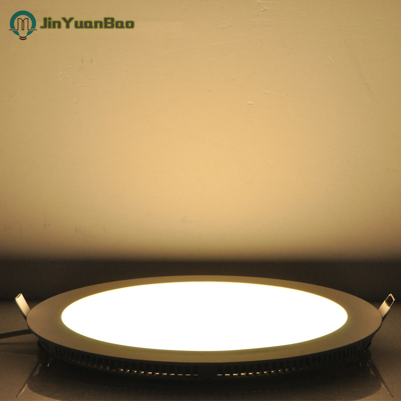 Slim LED ceiling light 12w 18w Circular LED recessed light AC85-265V LED panel light SMD2835 Suitable for home