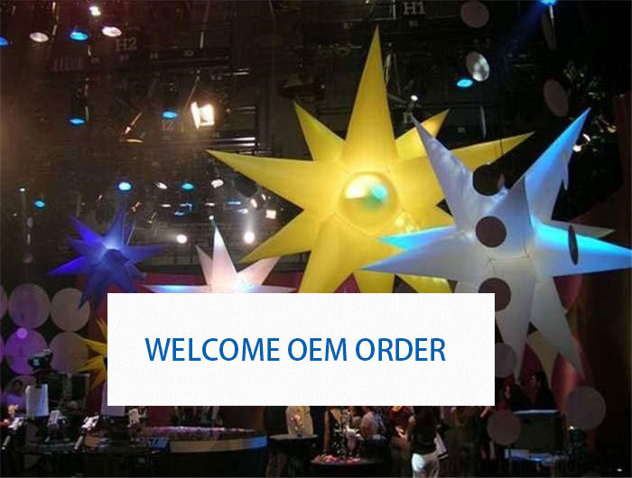 Colorful Advertising Inflatable Stars for Festivals Giant Decoration Balloon for Event & Party Supplies 0013