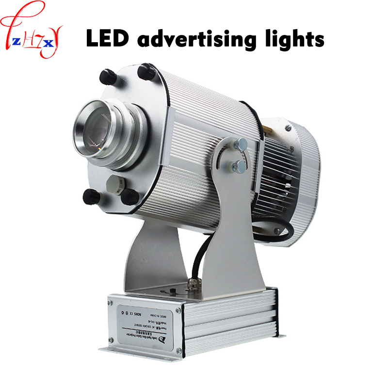 Outdoor waterproof creative advertisement spotlights advertising logo rotation projection light  110/220V 40W 1pc