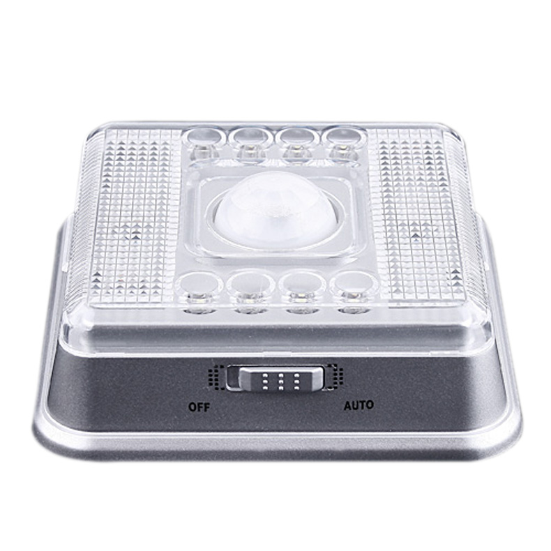 8 LED Light Lamp  Wireless Infrared  PIR Auto Sensor Motion Detector  88 --M25