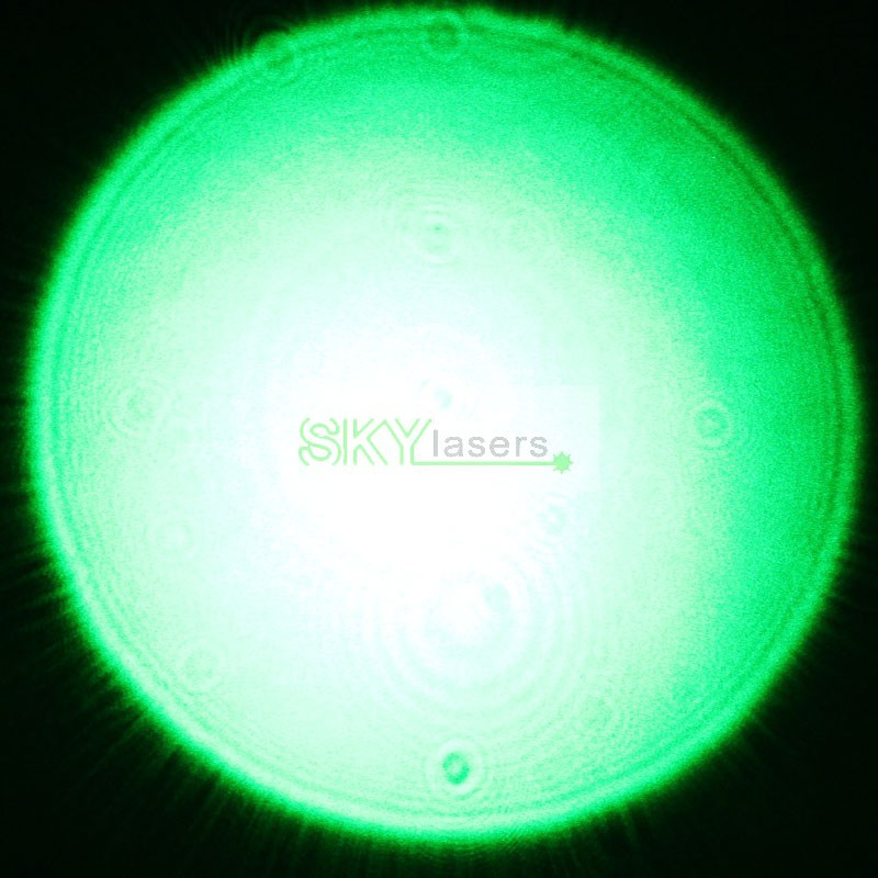 3 in 1 532nm Zoomable Green Laser Pointer Flashlight with Star Kaleidoscope Cap 2013 New Version+Battery+Charger