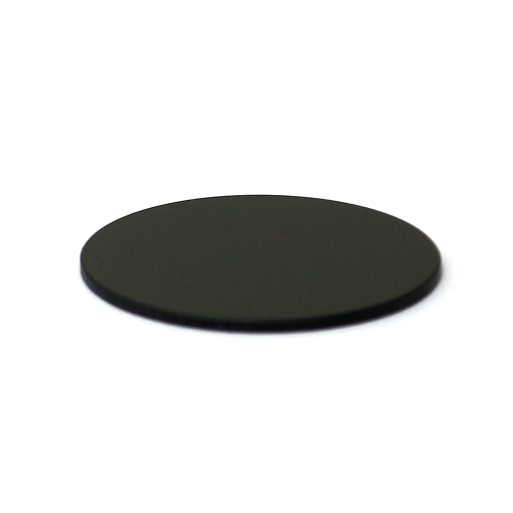 Q-BAIHE 2 pieces 400-750nm Filter Lens Allowing for IR Laser Only For thickness 1mm diameter 11mm