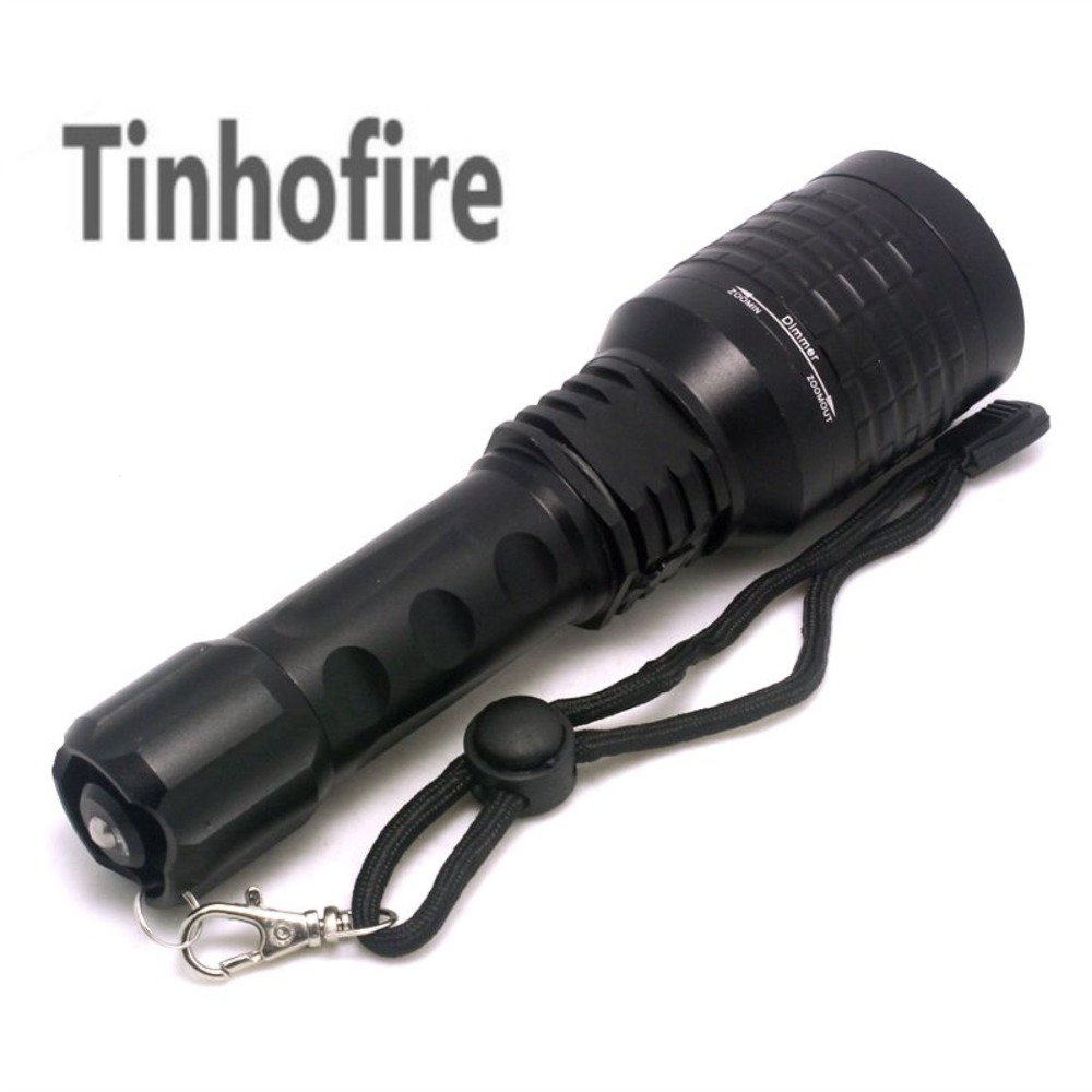 Tinhofire White LED Flashlight + Green Laser Light+Red Laser 3 x LED Light Zoomable LED Flashlight Torch lamp+ Charger