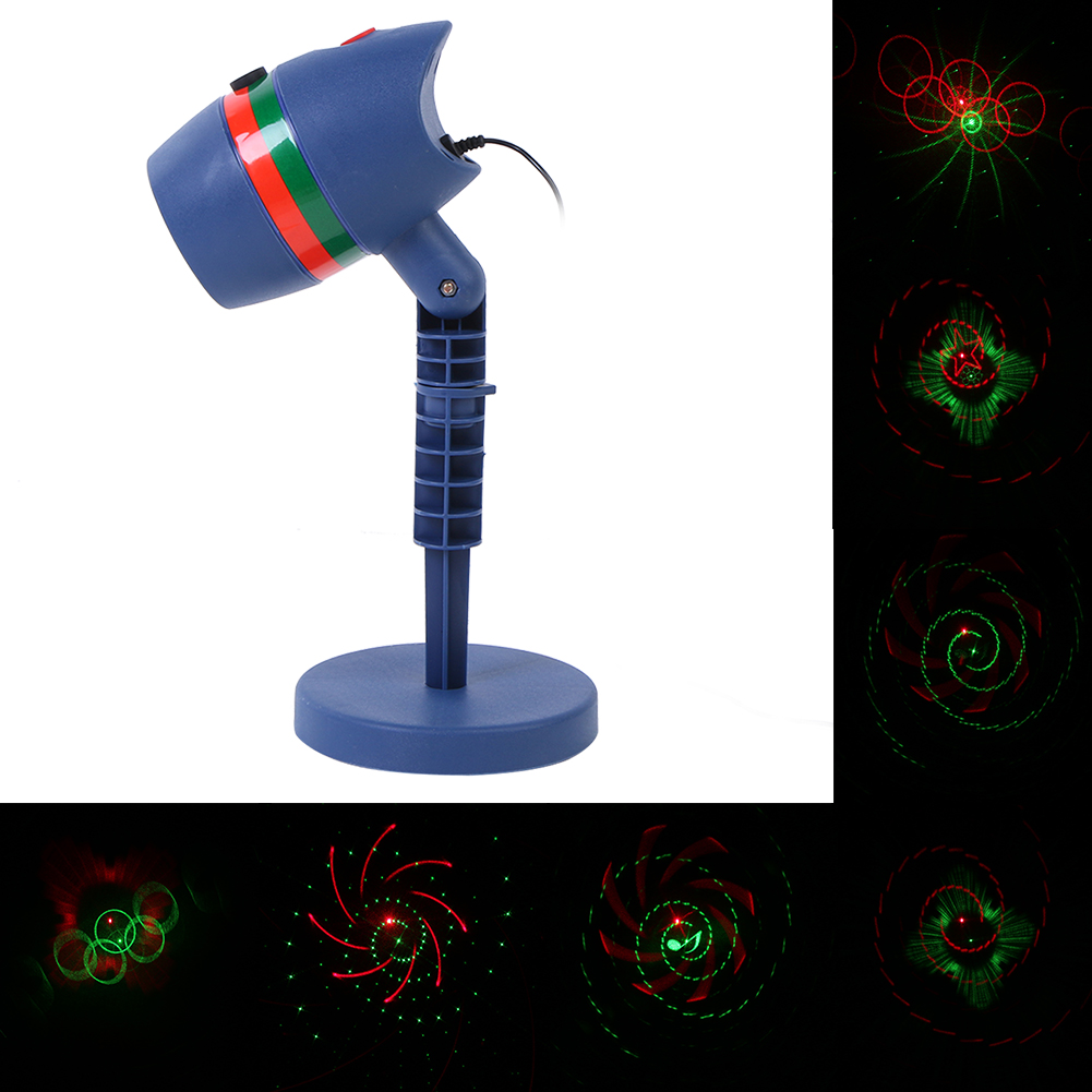 Laser Star Light Projector Showers Christmas Garden Landscape Lighting Waterproof Outdoor Red Green Mix Motion Twinkle lamp