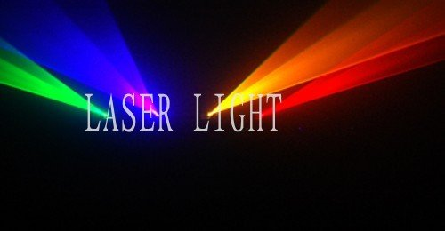 4 lens 4 color RGVY laser light DJ disco stage lighting equipment