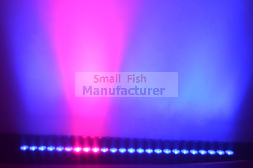 4xLot Cheap 2016 Led Wall Washer Light 24X3W RGB 3in1 Led Floodlight 1000mm LED Linear Bar Running Horse Effect Stage DJ Disco